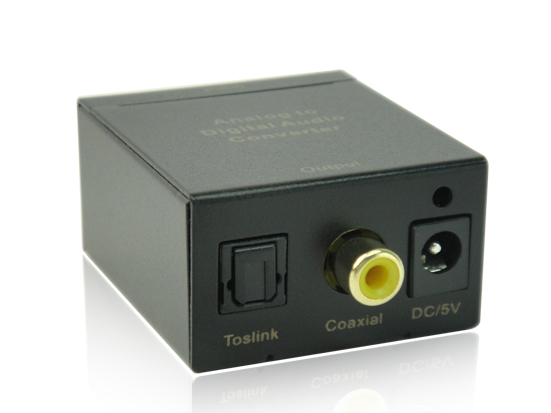 Analog audio to Digital audio converter