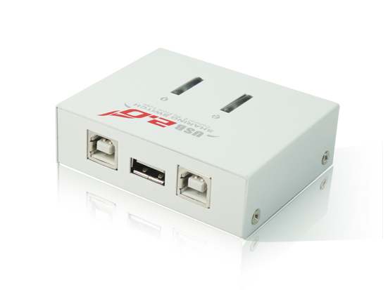 USB2.0 2 Port USB Sharing Switch