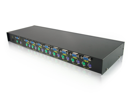 8 PORT PS/2 KVM SWITCH