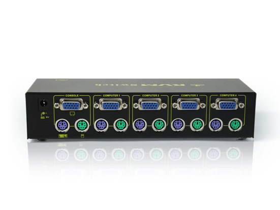 4Port PS/2 KVM Switch