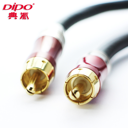 DIPO Spdif Digital coaxial audio cable Support 2.1/5.1/7.1 audio